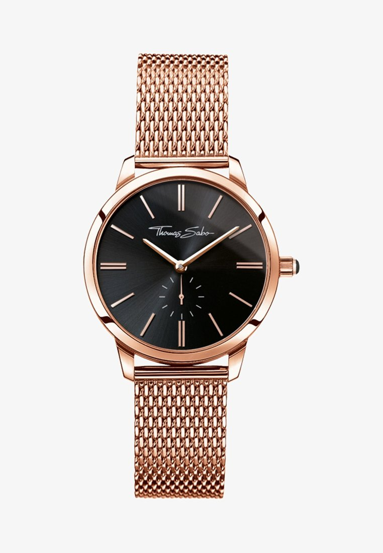 THOMAS SABO - GLAM SPIRIT - Watch - rosegold-colored/black