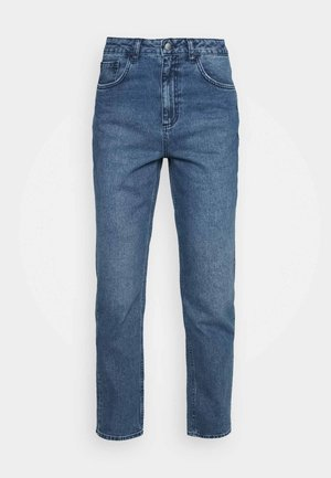 HIGH RISE - Straight leg jeans - light blue wash
