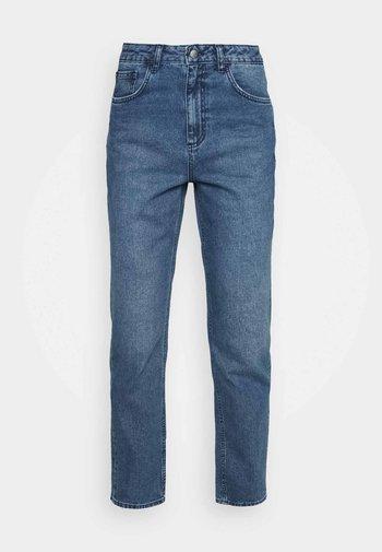 HIGH RISE - Džíny Straight Fit - light blue wash