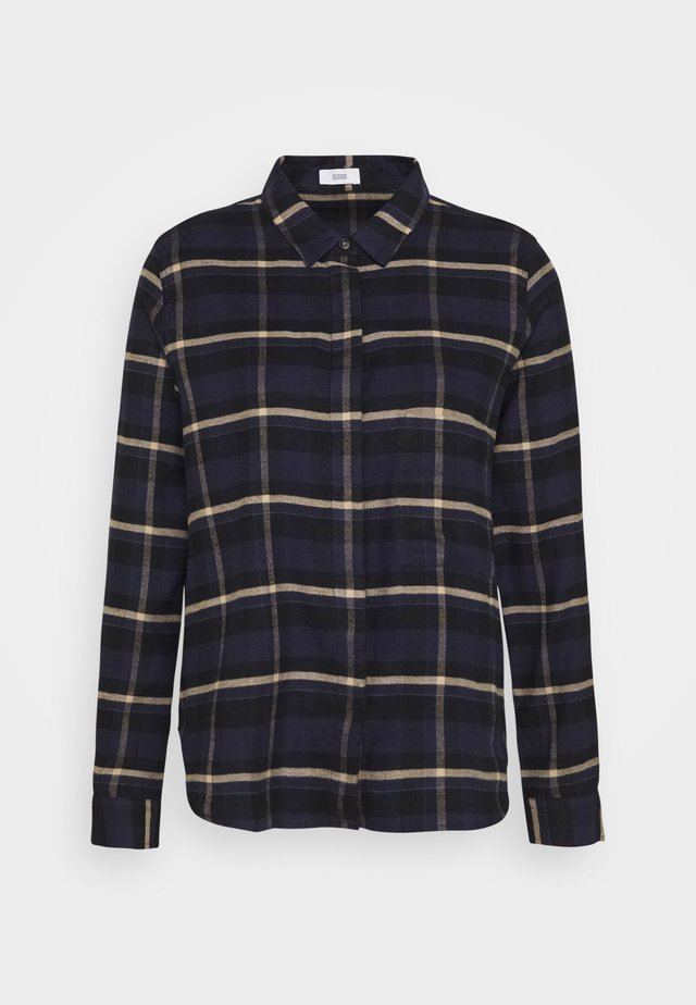 HAILEY - Button-down blouse - dark night