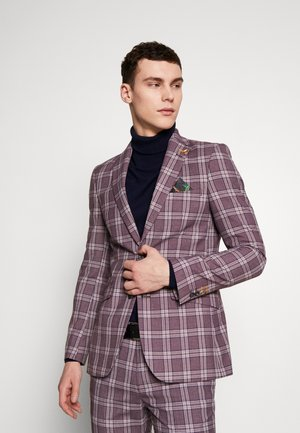 DARWIN SUIT  - Suit jacket - dark red