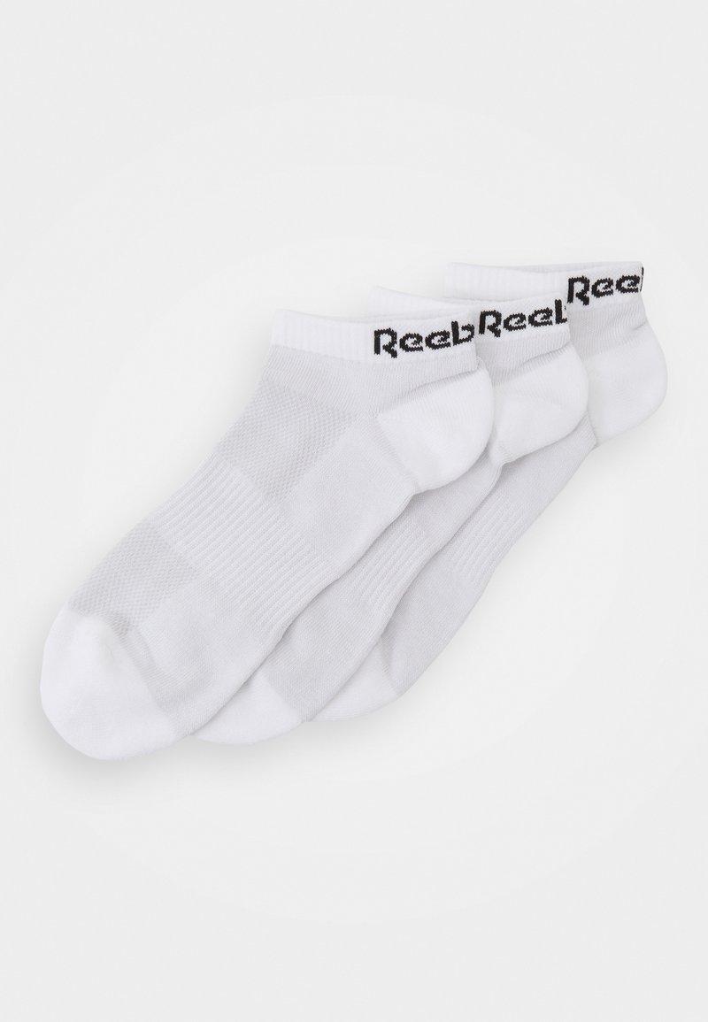 Reebok - LOW CUT SOCK 3 PACK UNISEX - Calcetines tobilleros - white
