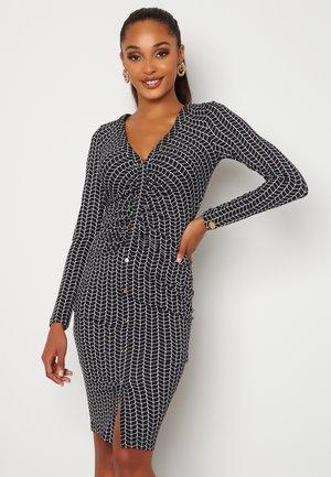 GIANINA  - Jersey dress - dark blue