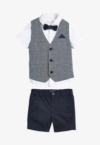 Next - SET  - Waistcoat - blue - 0