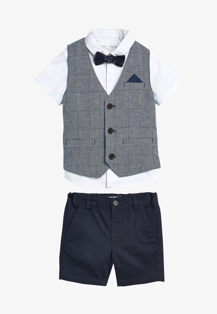 Next - SET  - Waistcoat - blue