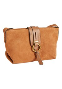 Next - MINK LEATHER AND SUEDE ACROSS-BODY BAG - Torba na ramię - brown - 2