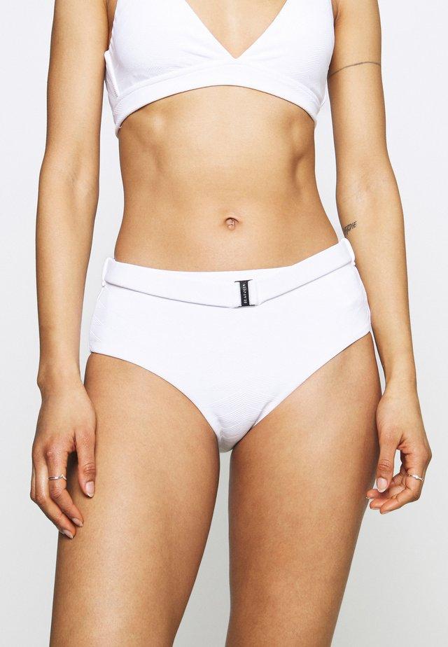 SEASIDE SOIREE WIDE SIDE RETRO - Braguita de bikini - white