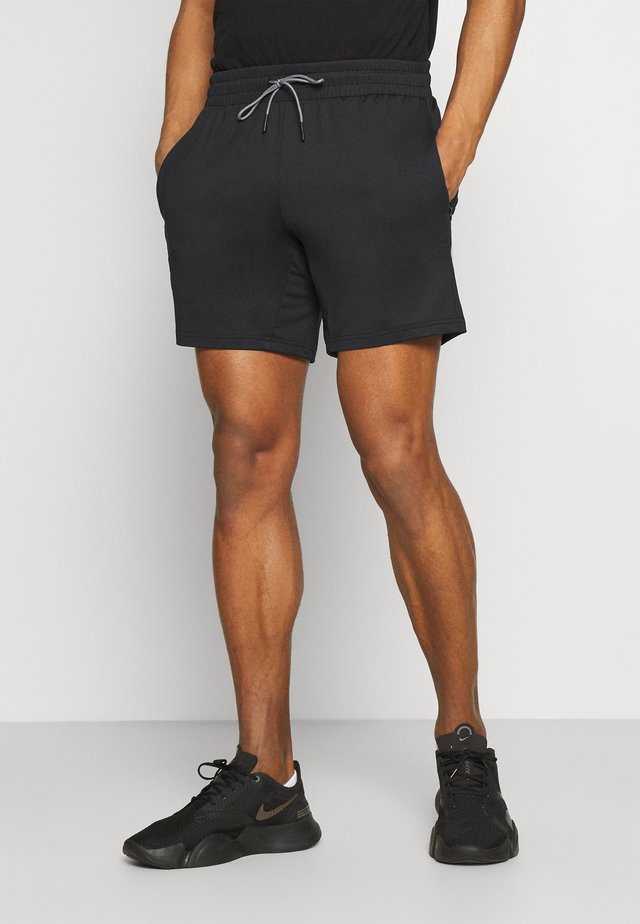 Men's training shorts - Sports shorts - black