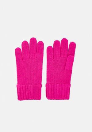 APPAREL ACCESSORIES GLOVE UNISEX - Gloves - preppy pink