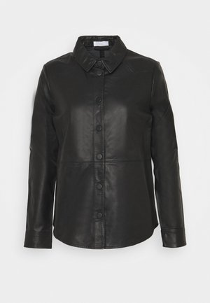 THURLOW - Button-down blouse - black