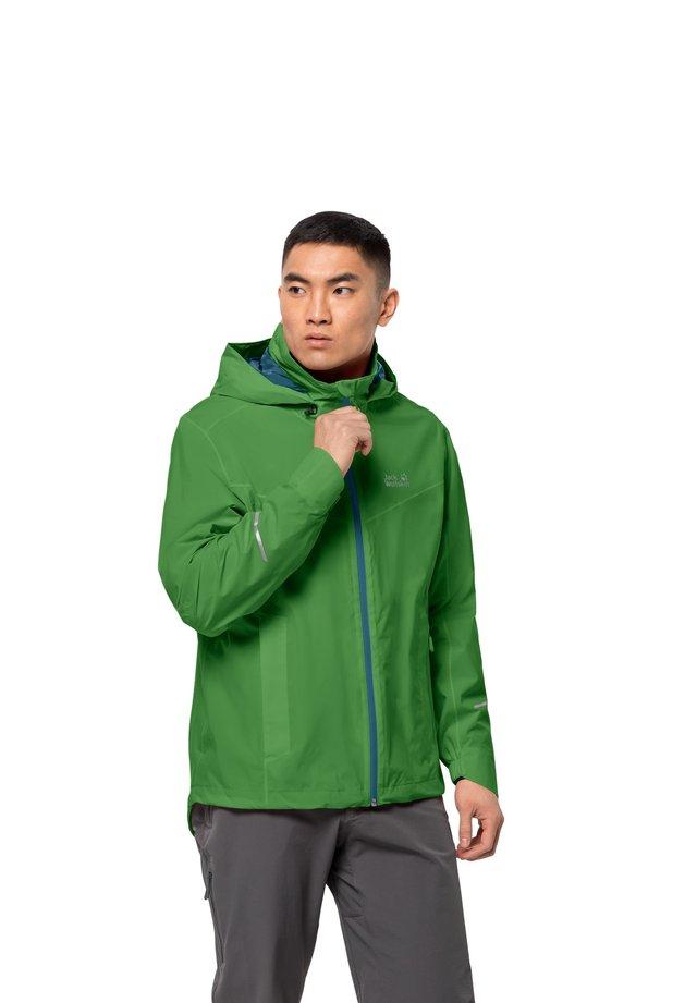 TOUR  - Hardshell jacket - basil green