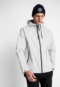 Helly Hansen - URBAN RAIN JACKET - Waterproof jacket - grey fog - 0