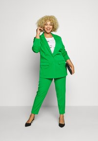 MY TRUE ME TOM TAILOR - WITH CONTRAST LINING - Short coat - gras green - 1