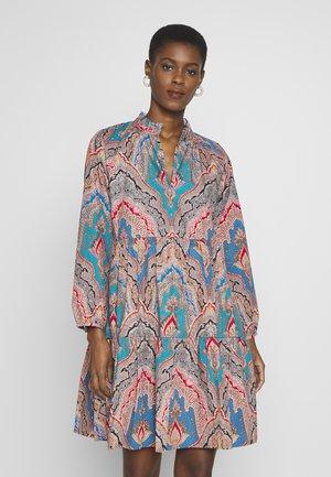 REBECCA DRESS RATTI POPLIN TALL - Korte jurk - celadon multi