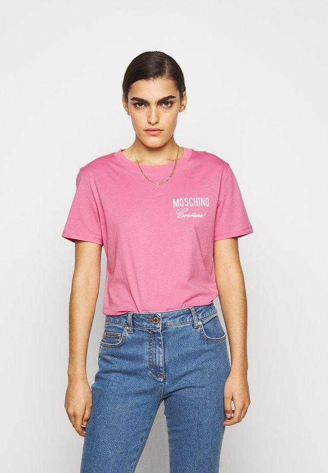 T-shirt imprimé - fucsia