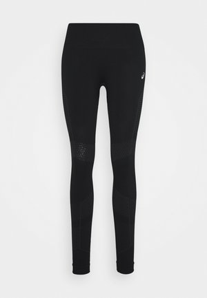 SEAMLESS - Collants - performance black