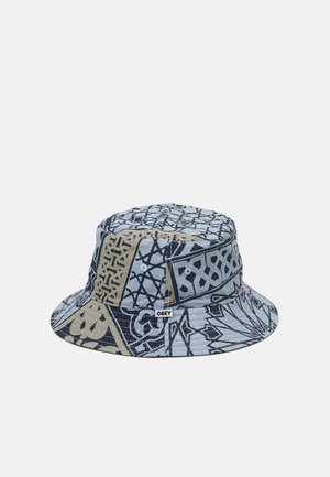 BANDANA BUCKET HAT - Hat - navy/black
