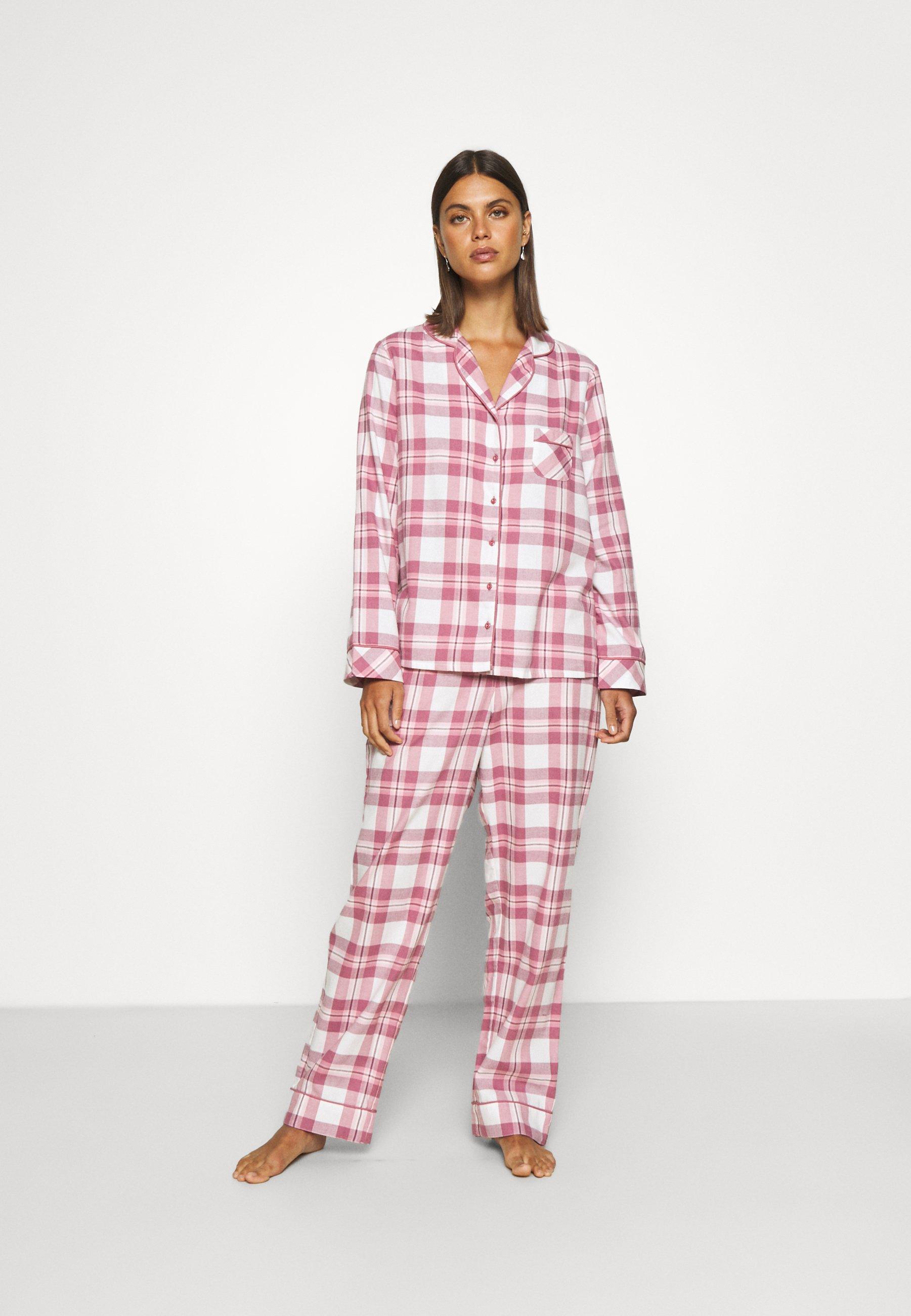 Women COSY CHECK SET - Pyjama set