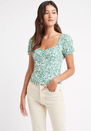 Print T-shirt - nx-green