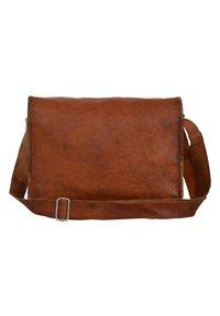 Gusti Leder - ALEX  - Across body bag - brown - 3