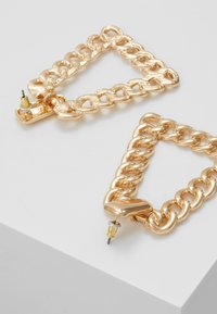 ERASE - CHAIN PYRAMID - Pendientes - gold-coloured - 2