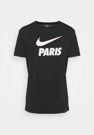 PARIS ST GERMAIN CLUB TEE - Club wear - black
