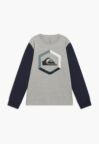 Quiksilver - THE BOLDNESS YOUTH - Long sleeved top - athletic heather - 0