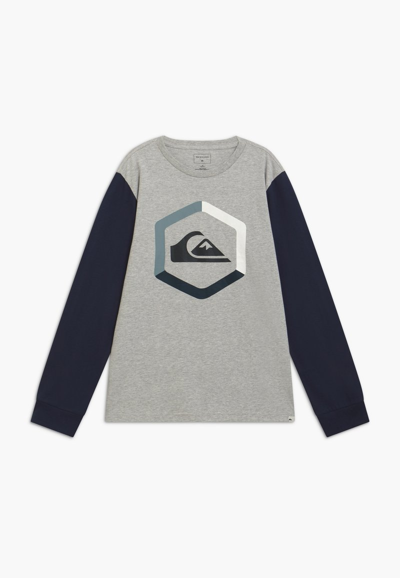 Quiksilver - THE BOLDNESS YOUTH - Long sleeved top - athletic heather