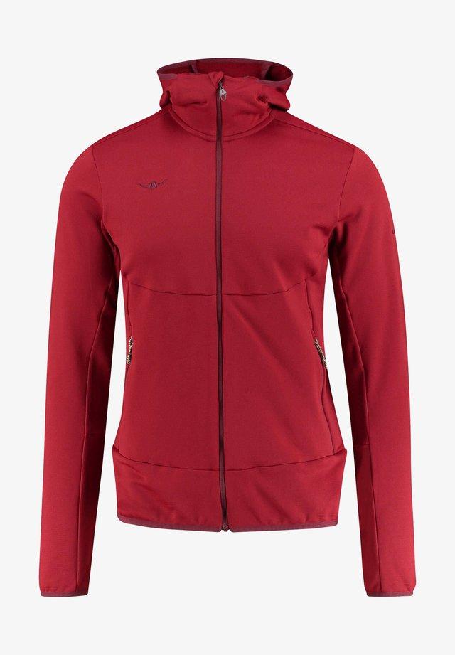 ESKO - Fleece jacket - red