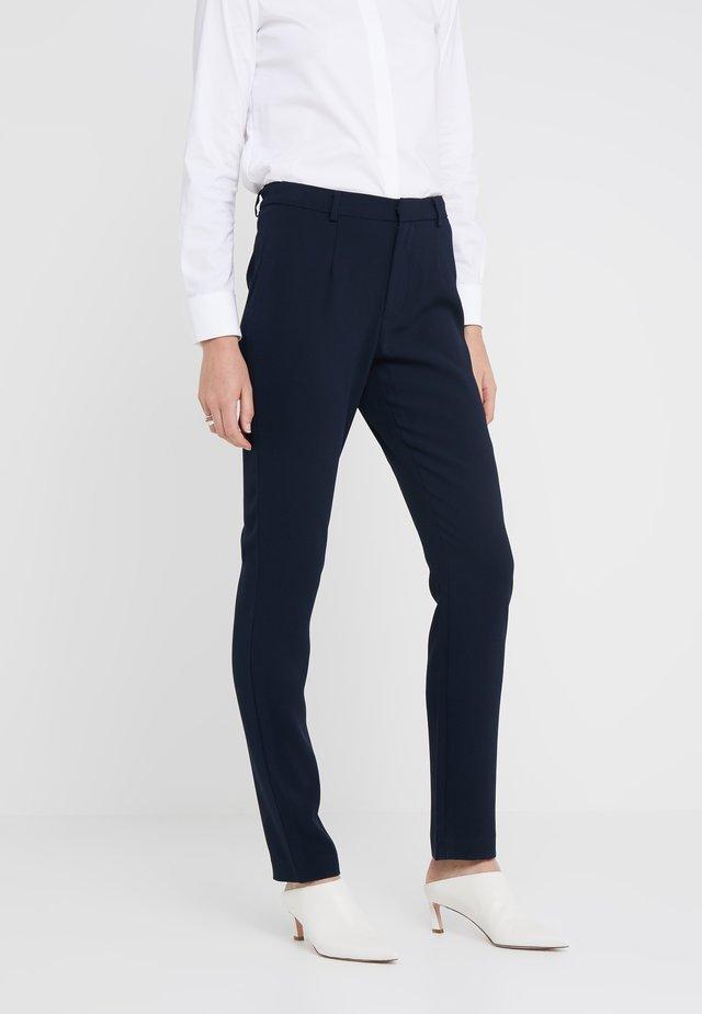 CHARLENE ESSENTIAL PANTS - Spodnie materiałowe - navy