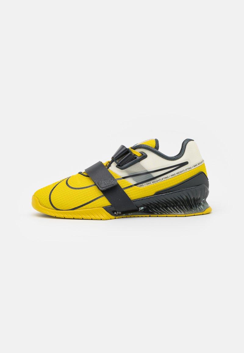 Nike Performance - ROMALEOS UNISEX - Sports shoes - bright citron/dark smoke grey/grey fog