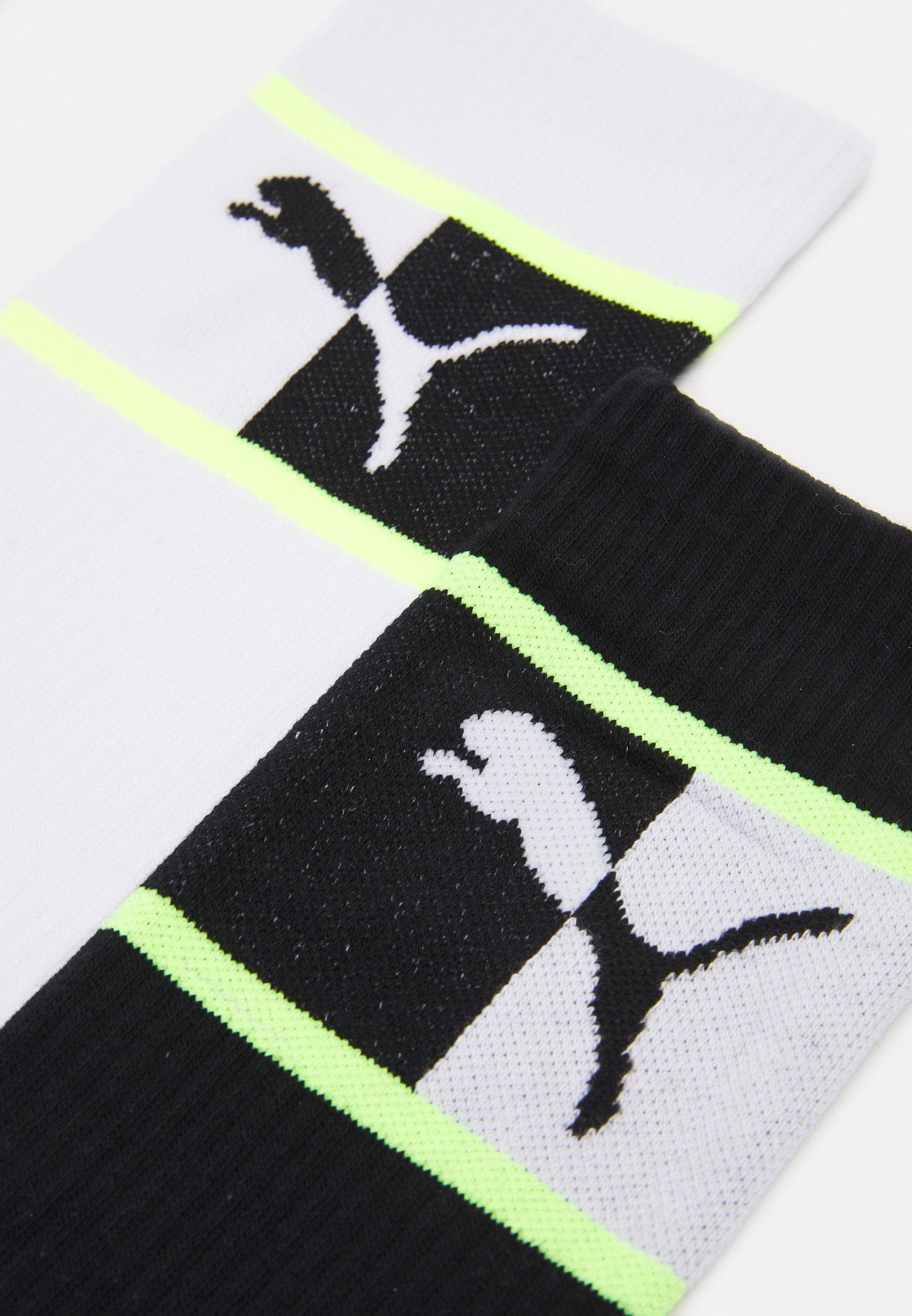 Femme MEN BLOCKED LOGO SOCK ECOM 4 PACK UNISEX - Chaussettes de sport