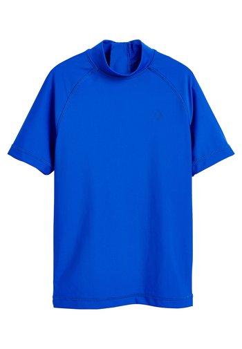 SHORT SLEEVE - Rash vest - blue