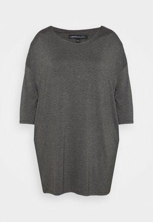 ZIP SHOULDER DETAIL SIDE POCKET - Top - grey