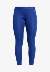 Reebok - WORKOUT READY COMMERCIAL TIGHTS - Leggings - cobalt - 4