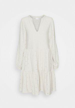 VISANIANA V-NECK DRESS - Robe en jersey - birch