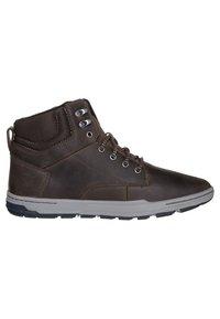 Cat Footwear - COLFAX - Šněrovací kotníkové boty - dark brown - 3