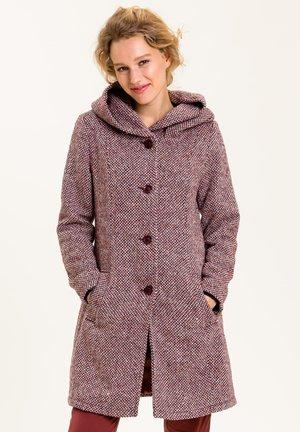 CALDONAZZO - Classic coat - rotbraun