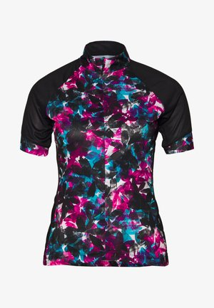 ELABORATE - T-shirts print - active pink/black