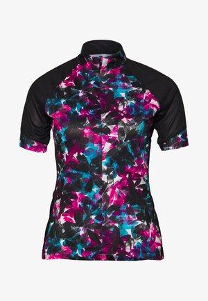 ELABORATE - T-Shirt print - active pink/black