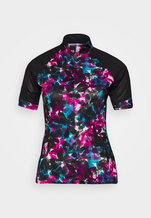 ELABORATE - Print T-shirt - active pink/black