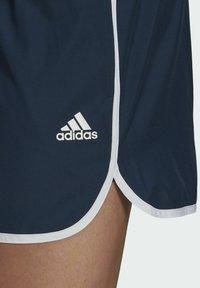 adidas Performance - SPLIT ZWEMSHORT - Swimming shorts - blue - 4