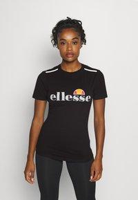 Ellesse - DELLE - Print T-shirt - black - 0