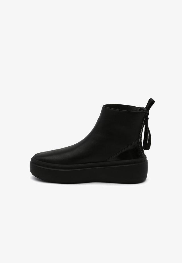 BUMPER PURE - Platform ankle boots - black