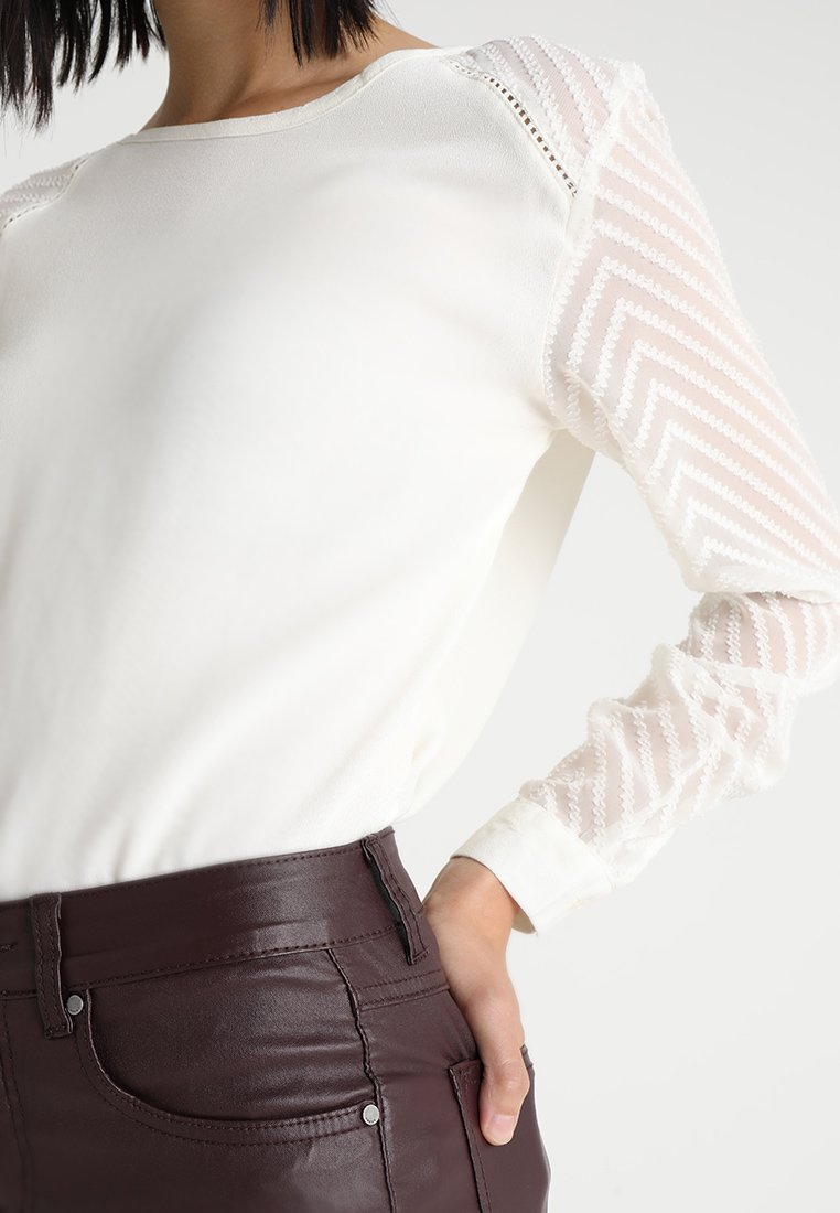 Abbigliamento da donna Object OBJZOE Camicetta gardenia