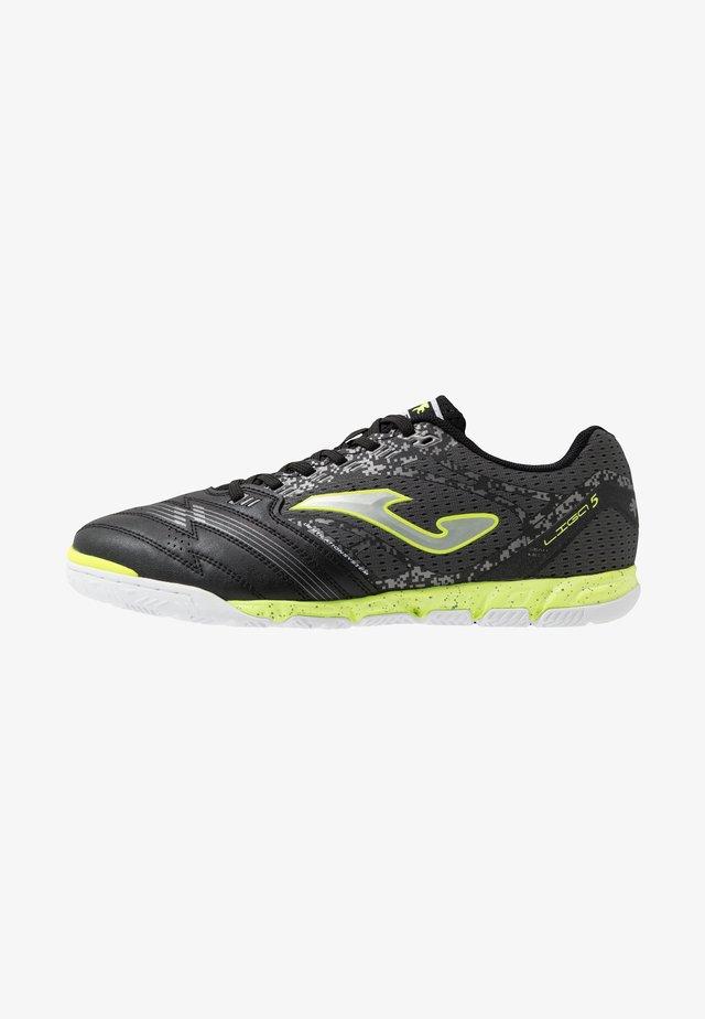 LIGA 5 - Indoor football boots - black