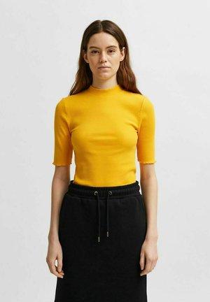 SLFANNA TEE - Basic T-shirt - citrus