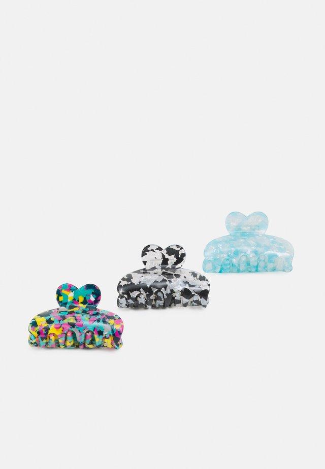 PCLIMA HAIRSHARK KEY 3 PACK - Håraccessoar - blue/multi/marble