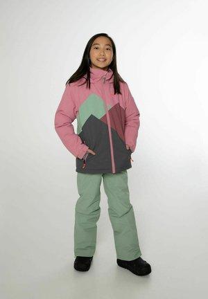 Snowboard jacket - berry melee