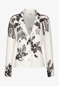 Alba Moda - Cardigan - off-white,anthrazit,rosenholz - 5